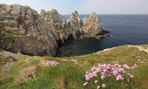 Pointe de Pen-Hir sur la Presqu'île de Crozon dans le Finistère